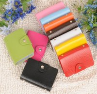 Wholesale Card holders cards Pu leather credit ID business card holders porte carte credit case