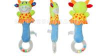 Wholesale Stuffed Toys Wholesale Seller - Hot Seller Adorable Infant Toys Kids Baby Lovely Soft Stuffed Animal Model Handbells Rattles Handle Developmental Toy