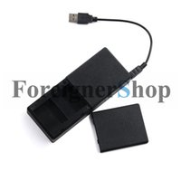 Wholesale 100PCS Universal Portable Dual Battery Charger Charge BackupPower Bank mAh For GoPro HD Hero3 BT GPBC10 SP10