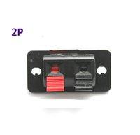 Wholesale 20pcs P bit Speaker Clamps clip Wiring Audio clip