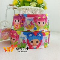 Wholesale 900yards New mm lalaloopsy Lele Angel Rib belt Ribbon Gift Wrapping Accessories HL
