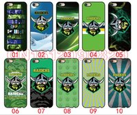 bag raiders - Canberra raiders phone cases For iPhone S Plus S C S iPod Touch For Samsung Galaxy S6 Edge S5 S4 S3 Note mobile phone bag