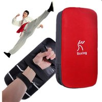 Wholesale Hot sale boxing pads Thai Kick Boxing Strike Curve Pads Muay Arm Punch MMA For Boxing Taekwondo Foot Target