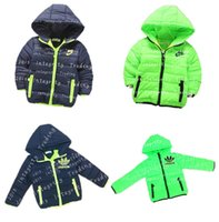 Wholesale Children s Casual Jackets Boys Hooded Parkas Outerwear Thicken Warm Winter Coats Fashion Jackets for Boys