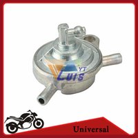 Wholesale GY6 Motorcycle Fuel Pump Petcock Valve Gas Tank Fuel Switch way for cc cc Moped Scooter Go Kart ATV Quad Pit bike order lt no track