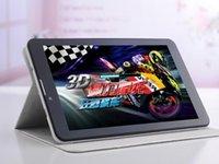 Nouvelle arrivée 7 pouces 3G Phone Call Tablet PC MTK6572 Dual Core 1.2GHz android appel 4.2phone bluetooth 6pcs à sous Wifi double caméra à double carte SIM