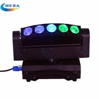 Wholesale 4PCS Moka MK M15 W Led Color Changeable Eyes Led Moving Head Light for Stage Club Disco lighting
