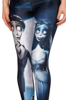 adventure clothing brands - New Adventure Time Corpse Bride Fitness Leggings Fashion Women Digital Print Legging Sexy Lady Pants Brand Clothes
