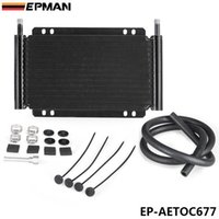 Wholesale EPMAN High Quality Racing Car Series Type Row Aluminum Plate Fin Transmission Oil Cooler EP AETOC677