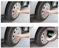 air pressure sensor - Air Alert tire valve cap Pressure Monitor Valve Stem Cap Sensor Indicator Bar Air Warning Alert Valve