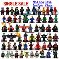 best marvel heroes - Single sale DC Marvel super hero batman deadpool harley quinn Minifigures Collection Building Block Best Children Gift Toy