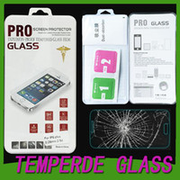 Wholesale 9H Premium Real Tempered Glass Film Screen Protector For iPhone plus iwatc Samsung S5 S6 S6 edge Note