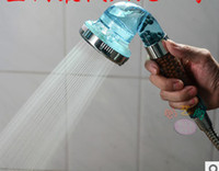 Wholesale Multifunctional shower nozzle Bathroom Shower Heads with super booster water washable negative ion shower head