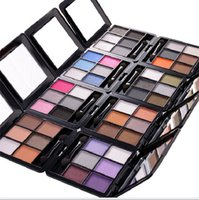age makeup - Makeup Set Eyeshadow Palette Masking Brush Preschool Pretend Makeup Set w Cosmetic Bag Mess Free Ages Girl