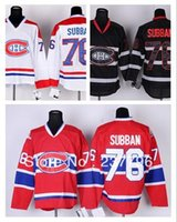 best baseball fans - 30 Teams New Ice Hockey P K Subban Jerseys Home Red Away White Black For Sport Fans Sewing Best Quality
