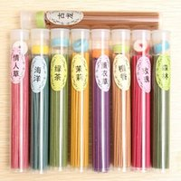 Wholesale 50 Sticks Incense Burners Aromatherapy Fragrance Pure Sandalwood Spices Natural Aroma Clean Air
