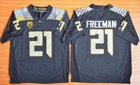 basketball patch - Royce Freeman Oregon Duck Jerseys New Season Jersey Men s Stitched With PAC Patch Green Black Orange size S XXXL Mixed Order