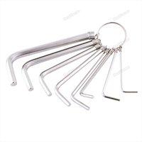 allen hex set - dealforme Wonderful New In Metric Combination Hex Key Allen Wrench MM MM Mechanic Tool Set Big saving