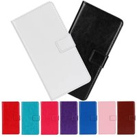 Wholesale Crazy Horse PU Leather Wallet Case Cover Card Holder Pouch For iPhone Plus Inch Samsung Galaxy Note I9060 Kickstand Holster