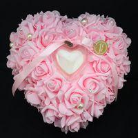 Cheap Wedding Ring Box Best heart shaped ring pillow