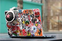 Wholesale xWaterProof Laptop styling sticker PC Pad Stickers laptop skin Decals For All Pad Phone PC