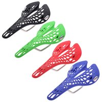 bicycle web - Hollow Spider Web Type Bicycle Saddle Lightweight MTB Road Mountain Bike Saddle Seat Colors Sillin Bicicleta Bicycle Parts Y0256