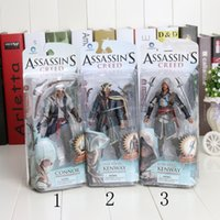 Multicolor, assassin toys - Assassins Creed cm Black Flag Connor Haytham Kenway Haytham Kenway PVC Action Figure Toys new arrival