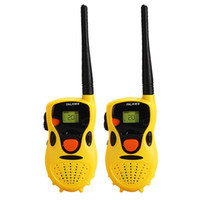 Wholesale Handheld Walkie Talkies for Children Toy Toys Educational Games Yellow