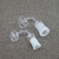 Precio de Cuarzo agua-100% realmente cuarzo uñas con el size14.4mm estándar y 18.8mm jiont mujer hombre para bong de vidrio de tubos de agua de cristal