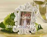 Wholesale Valentine s Day White Baroque Elegant Place Card Holder Photo Frame