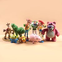 Wholesale 2015 Free DHL SET Toy Woody Story Buzz Lightyear Jessie Lotso Ken Kawii Hamm toy action figure