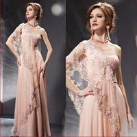 beaded saree - India Saree Single Shoulder Prom Gown Lace Light Pink Girl Fashion Evening Dress With Sequins
