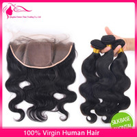 Cheap silk base frontal with bundles Best silk base lace frontal