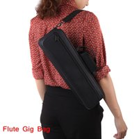 Wholesale Flute Accessories Western Concert Flute Bag D Water resistant Flute Gig Bag Oxford Cloth Design Retail