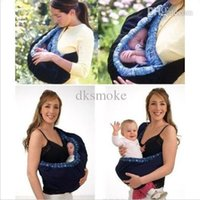 Wholesale Infant newborn Baby carrier Sling wrap swaddling kids Nursing Papoose bag Pouch