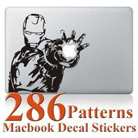 Wholesale Iron Man Angel Wings Totoro Beatles Sticker Skin protector for Apple MacBook Air quot Air Pro Mac quot quot quot Retina quot inch