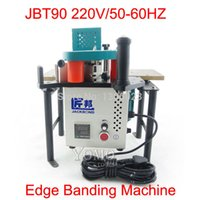 Wholesale JBT90 Portable edge banding machine with speed control Fit for straight and arc shaped irregular banding Edge job