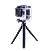 Wholesale S5Q Collapsible Three Way Adjustable Mount Camera Grip Tripod Stand For Gopro AAAFUE