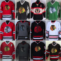 Wholesale Chicago Blackhawks Jerseys Jonathan Toews Patrick Kane Duncan Keith Clark Griswold Hossa Authentic Hockey Jerseys For Cheap
