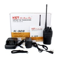 Wholesale New Black KST K Single Frequency Single Band UHF400 MHz W CH Two way radio A7158A