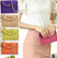 Wholesale Women PU Leather Tote Shoulder Bag Handbag Cross body Mini Mobile Phone Purse DH04