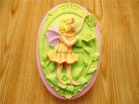 baking fairy cakes - Flower Fairy fondant cake mold silicone mold chocolate candy kitchen baking mold