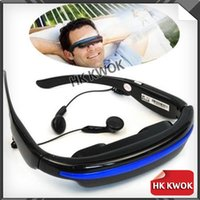 Wholesale inch Wide Screen HD D Stereo Virtual Video Glasses Eyewear Mobile Theater GB