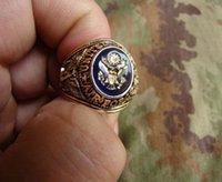 Services de l'équipe Avis-Le ring ring ring États-Unis ARMÉE cuivre Memorial de l'équipe de service de beauté d'honneur plaqué