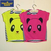 Cheap Hot Sale Free shiping Baby animal t-shirt Kids summer tops tees cute tops Children clothes 5pcs lot