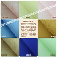 Wholesale Spiraea cool DMC cross stitch FJ between the authentic landscapes do not spend large living room painted precise printing Co