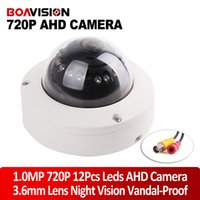vandal proof ir dome camera - 1 Mega Pixel P AHD Dome Camera AHDM CCTV Security HD MP Cameras IR Night Vision Vandal proof Outdoor For AHD DVR