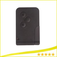 Wholesale High quality New RENAULT MEGANE SCENIC II CLIO ETC RF TYPE BUTTON REMOTE ALARM KEY FOB CARD