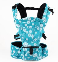 Wholesale Sell like hot cakes baby carrier summer cotton child waist embrace baby bag stool shoulders printing of the four seasons