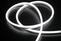 Wholesale Hot LED decoration lihgting50m led M LED Neon Flex Red color soft neon light V V waterproof